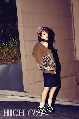 Yoon Seung Ah High Cut Vol. 160