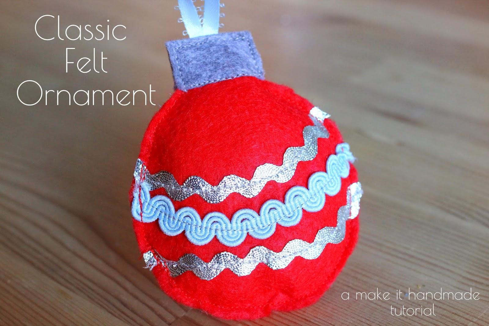 Angel christmas ornament handmade felt angel ornament u puffin