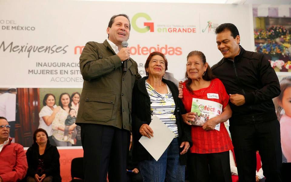 Imagen de Inauguran en Nezahualc�yotl refugio temporal para mujeres que sufren violencia