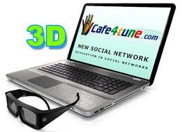 social networking website, Cafe4tune, cafe4tune Vs Facebook, play 3D games online, Dating social networking website, karaoke, broadcast your voice live