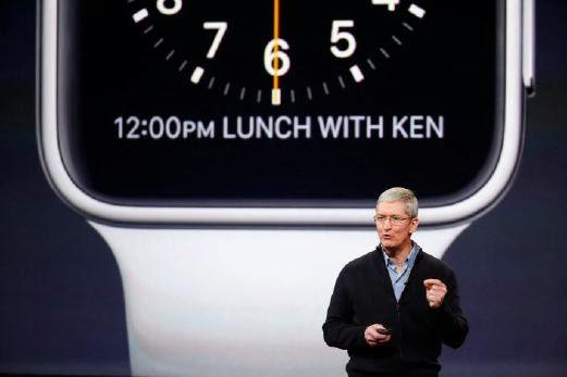 Pesanan awal Apple Watch mulai 10 April