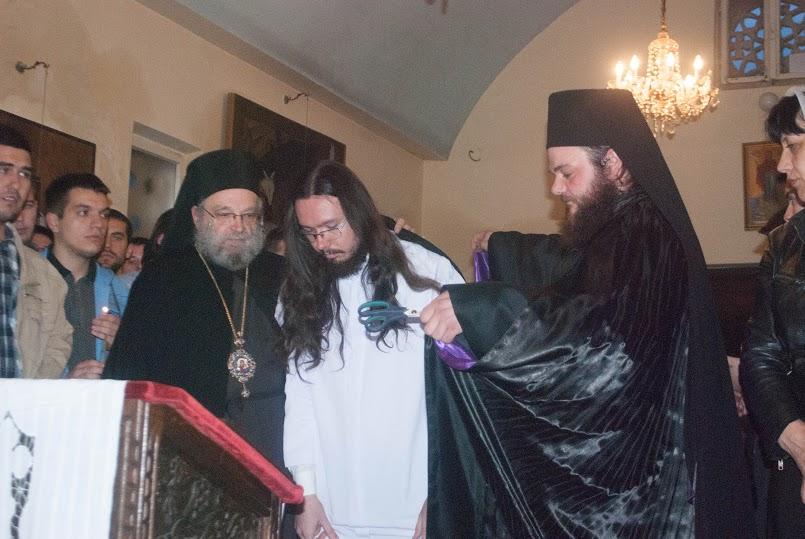 Монашење у манастиру Светог Стефана у Сланцима