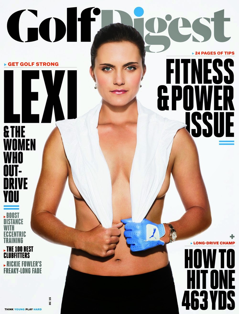 Golf Players @ Lexi Thompson - Golf Digest Magazine