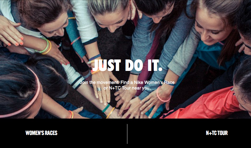 Nike women running photo