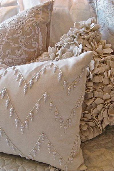 Tr s em casa detalhes da decora o almofadas - Fotos de cojines decorativos ...