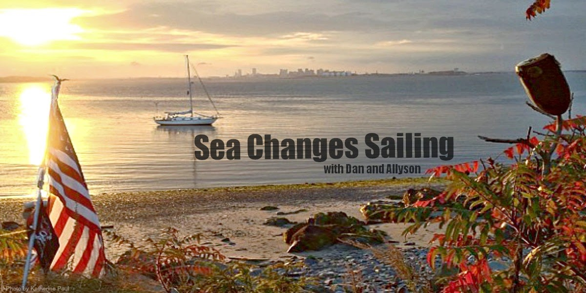 Sea Changes Sailing with Dan and Allyson