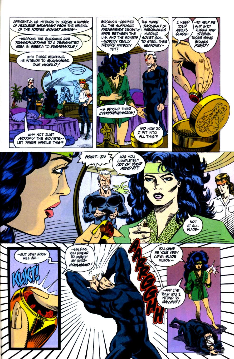 Deathstroke (1991) Issue #18 #23 - English 23