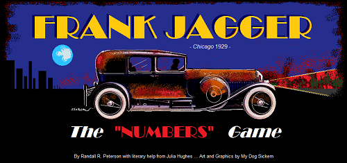 "FRANK JAGGER ""The Numbers Game"""