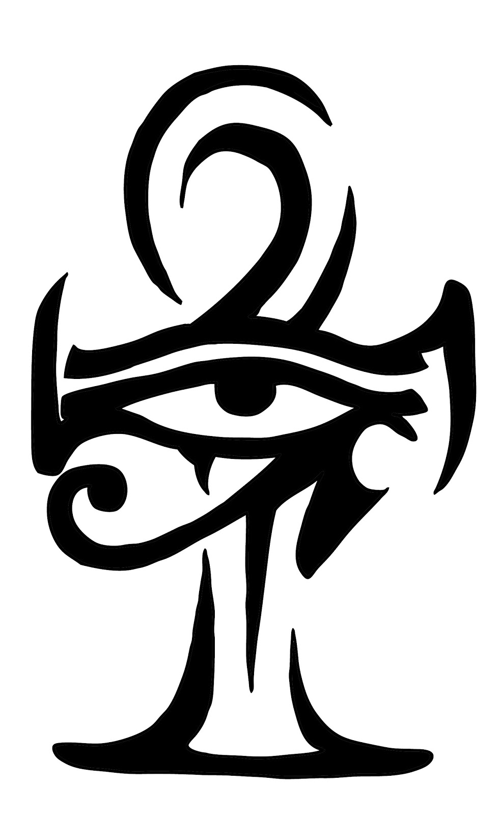 eye of horus x ankh tattoos pinterest horusauge augen und t towierungen. Black Bedroom Furniture Sets. Home Design Ideas