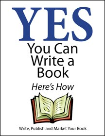 Yes You Can Write A Book