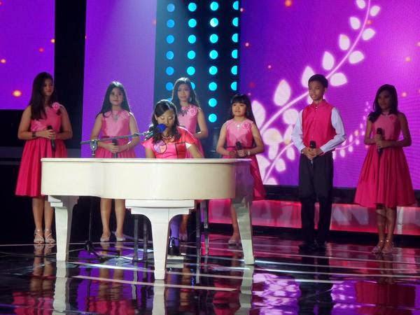 Maria Idol Junior - Hanya Cinta Yang Bisa (Agnes Monica ft Titi DJ)