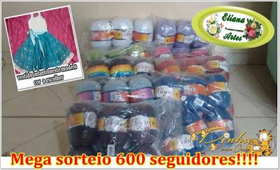 Sorteio 600 Seguidores