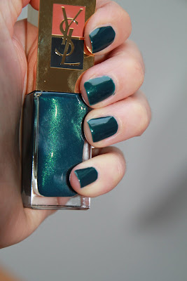 YSL Yves Saint Laurent 43 Wintergreen test avis essai swatch blog id=
