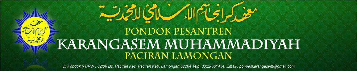 Pondok Pesantren Karangasem Muhammadiyah Paciran Lamongan