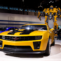 Transformer Bumblebee Chevy Camaro 