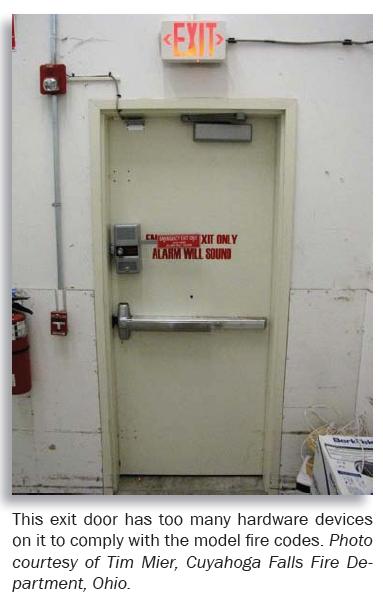 California Building Code Door Hardware