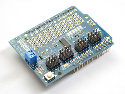 Adafruit Servo Motor Shield 16 channel 12 bit PWM