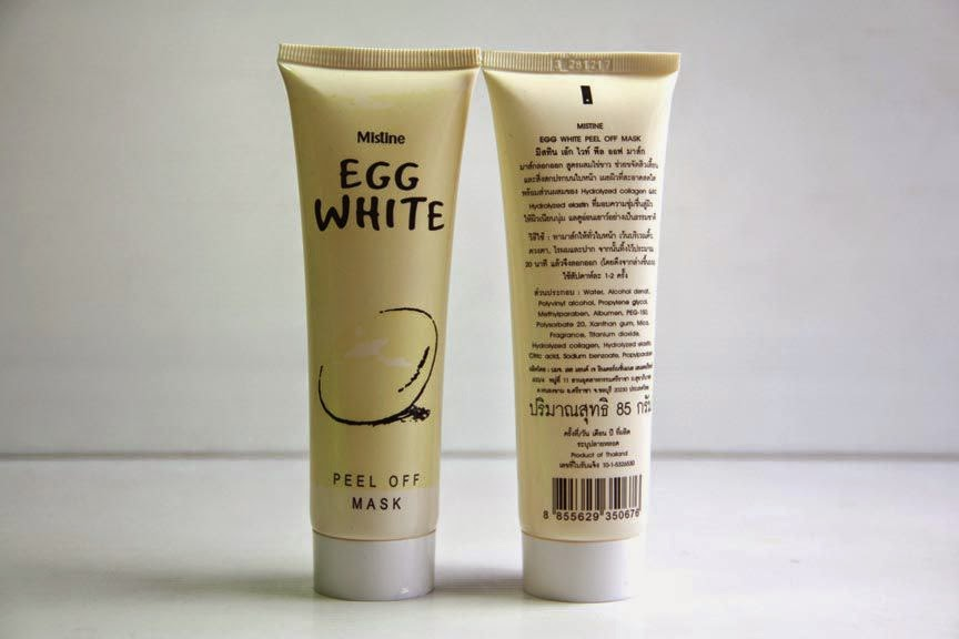 Mistline Egg White Peel Off Mask