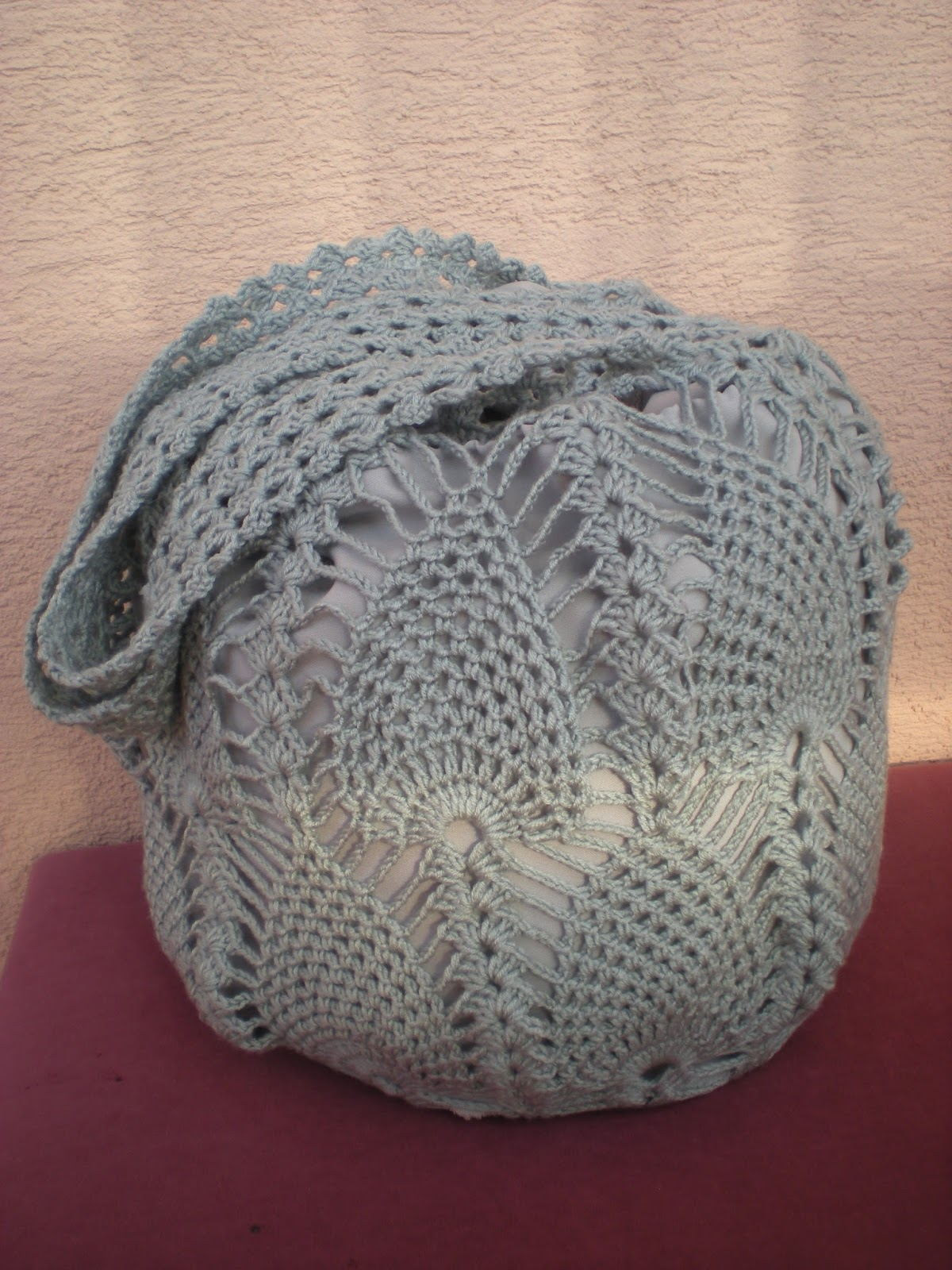 Pineapple Crochet Bag Pattern : know that my patterns are usually for free, but on this one due to ...