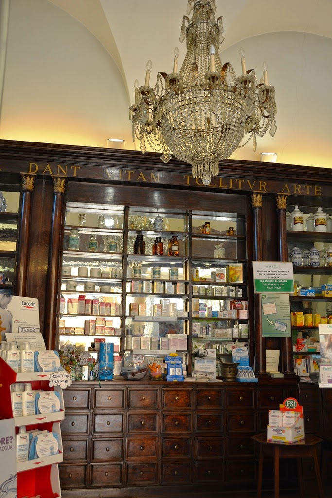 General Impressions Bologna pharmacy