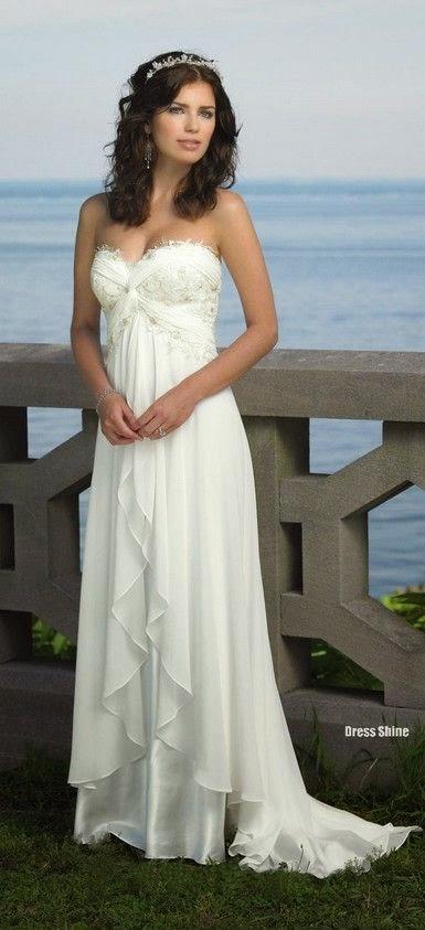 Vestidos de Novia para una Boda Casual en la Playa