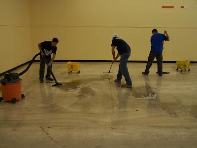 Equipe de Limpeza