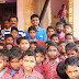 Youth icon Samarendra interacts with Semiliguda schoolchildren