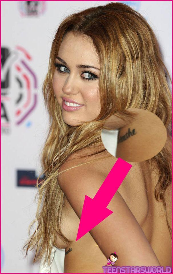 New Full Body Tattoo: Miley Cyrus Tattoos