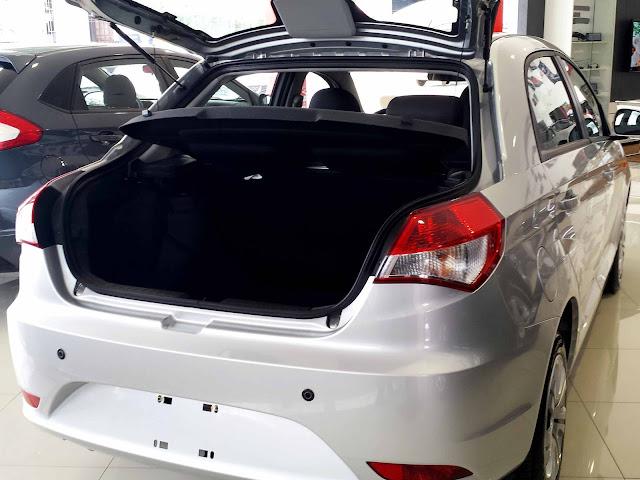 Chery Celer Sedan 2016 Flex - porta-malas