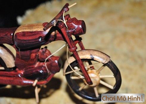 Mô Hình Xe Moto Tự Chế