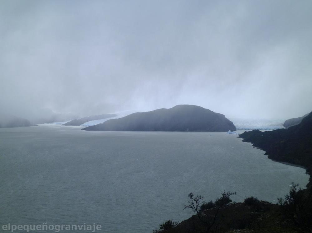 Refugio Grey – Campamento Italiano, Glaciar Grey