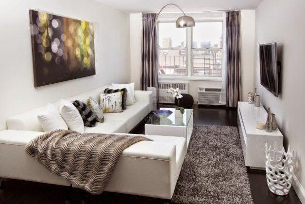 Decoracion de salas peque as y modernas salas y for Distribucion oficinas pequenas
