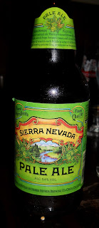 american craft brewed Sierra Nevada pale ale beer