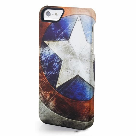 Carcasa iPhone 5 Marvel Capitán América