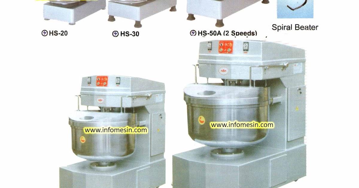 Spiral Mixer Kitchen Equipment