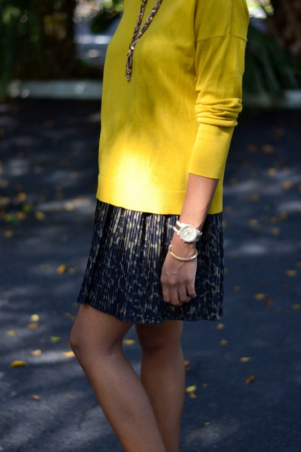 How to wear mustard for fall