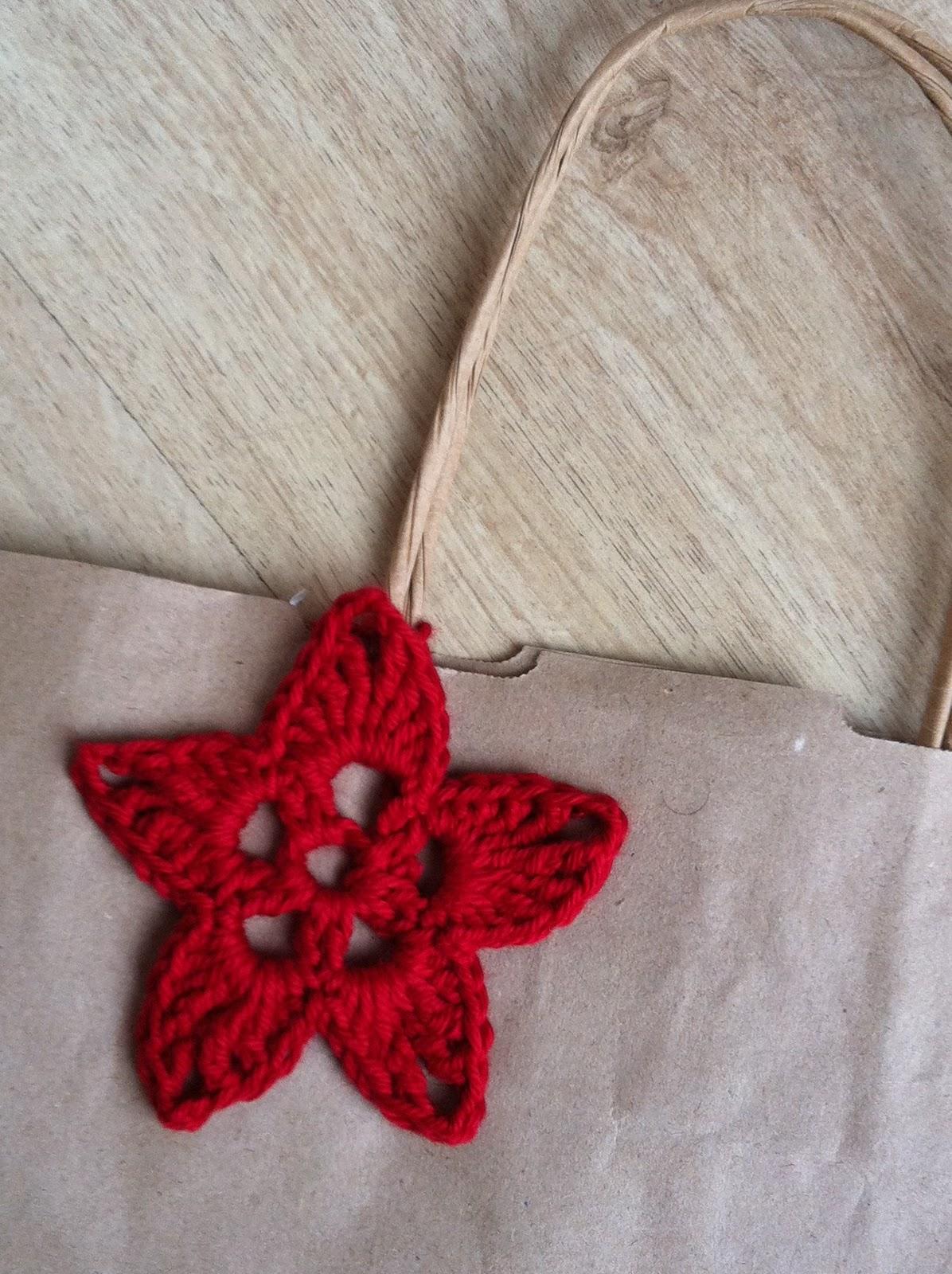 delimalimon craft: Una estrella de ganchillo en el patrón de los lunes.