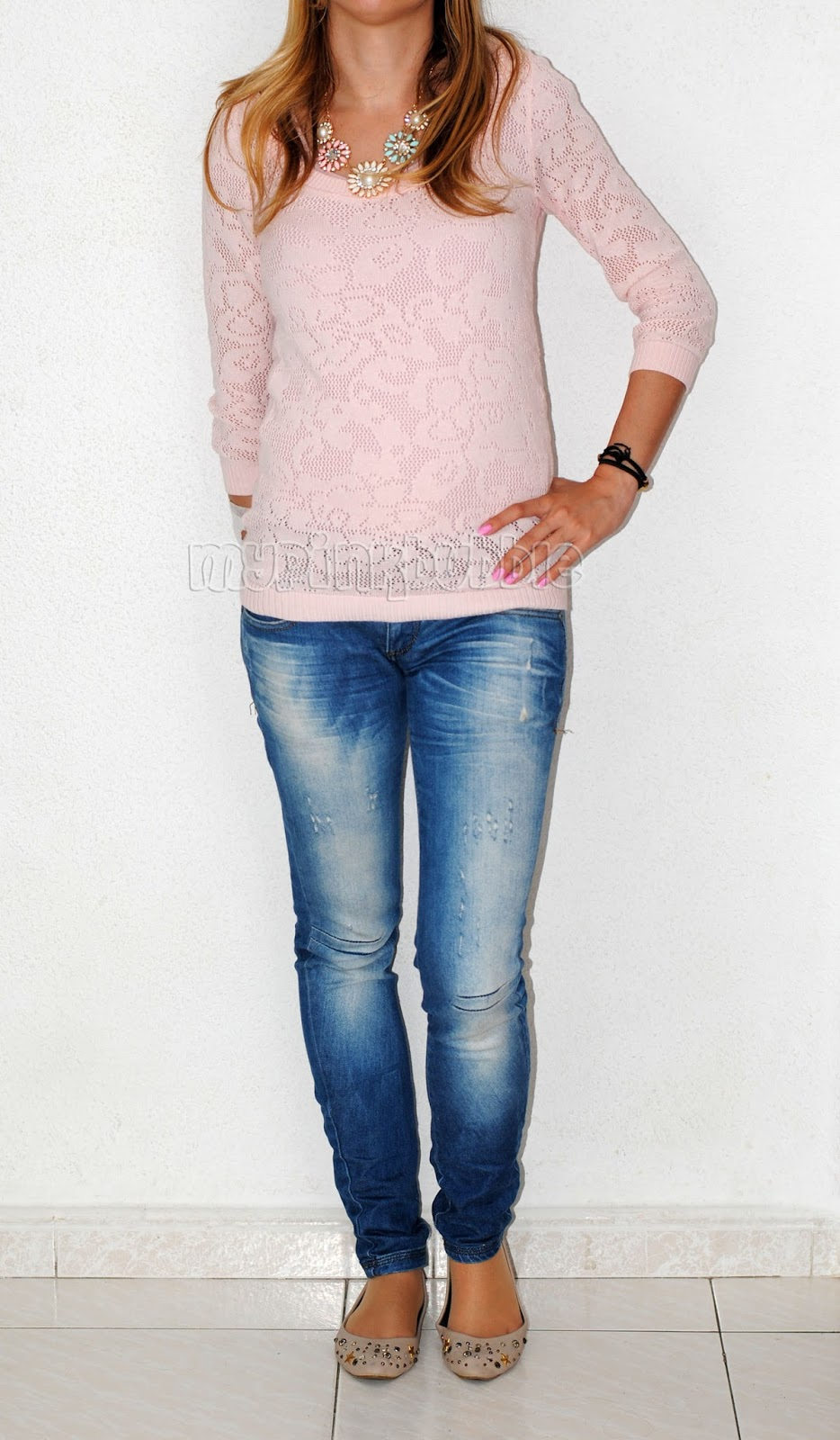 outfit rosa pastel