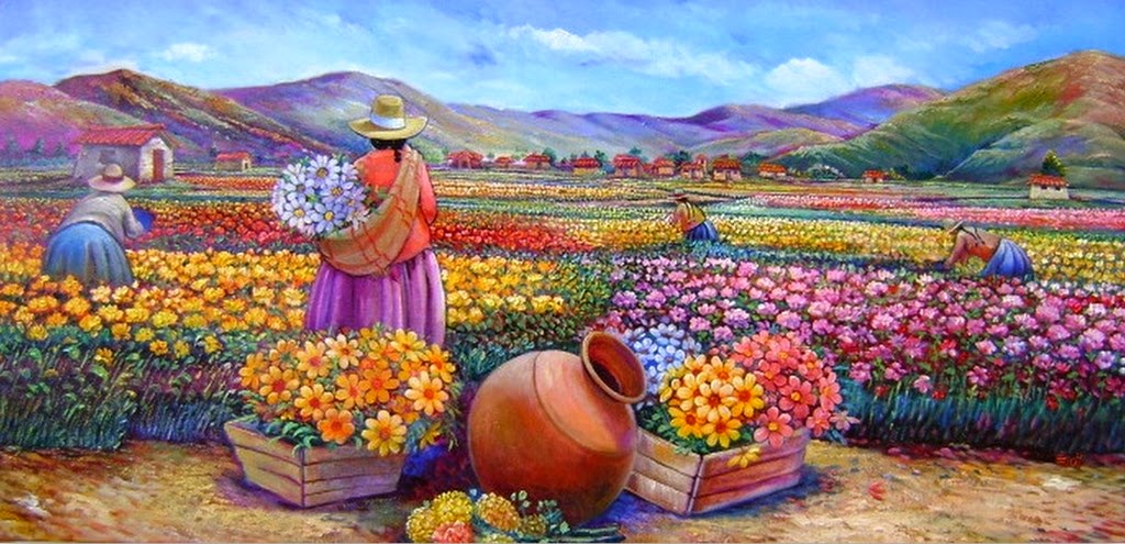 mujeres-peruanas-con-flores-modernas