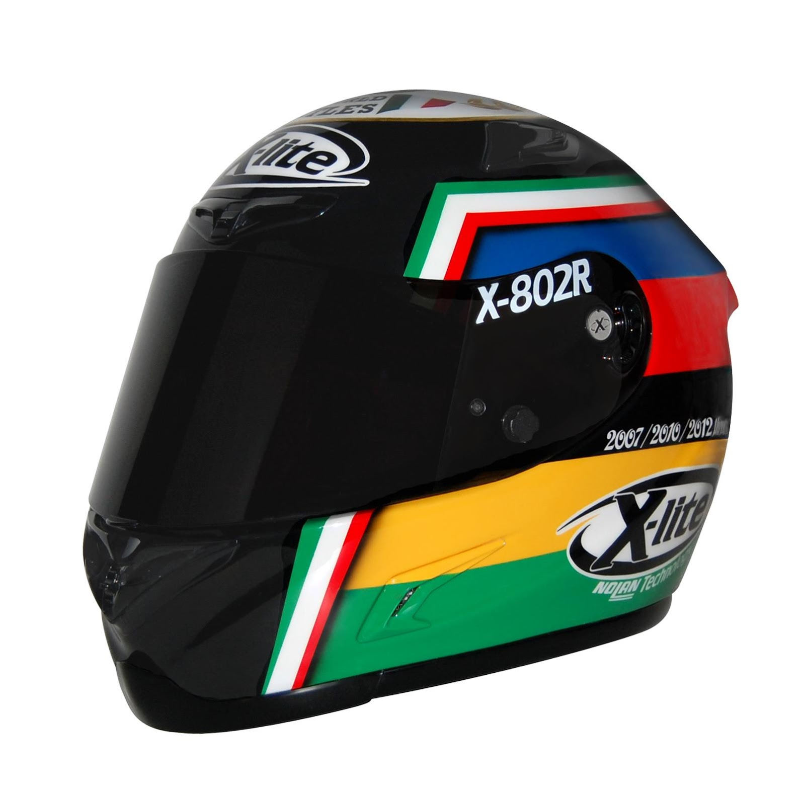 racing helmets garage x lite x 802r j lorenzo 3 world. Black Bedroom Furniture Sets. Home Design Ideas