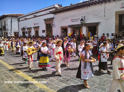 Celebrating the 479 Aniversary of Patzcuaro