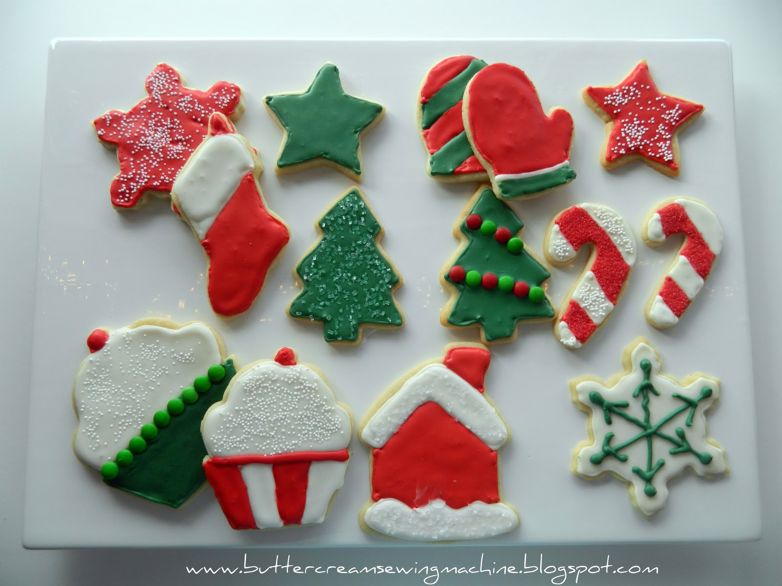 wednesday december 28 2011 - How To Decorate Christmas Cookies With Royal Icing