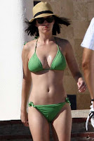 Katy Perry Green Bikini Mexico