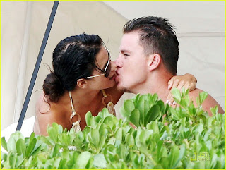 Channing Tatum Girlfriend Kissing
