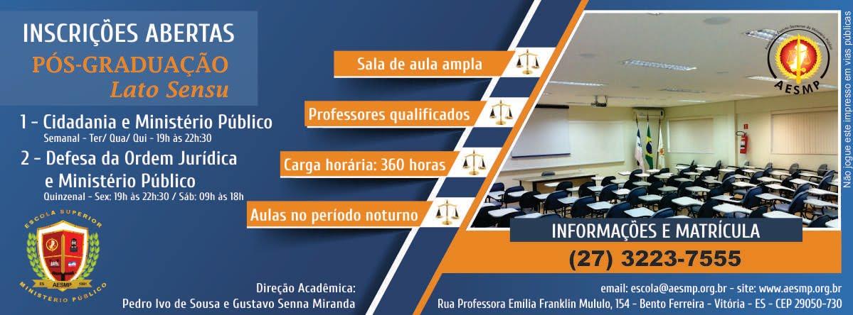 Pós-Graduação EESMP