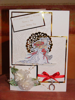 Carmen & Mikes wedding card