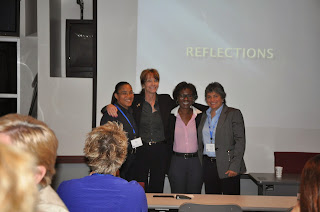 Lt. Veach participated in a group presentation at LIEE at LEMIT.