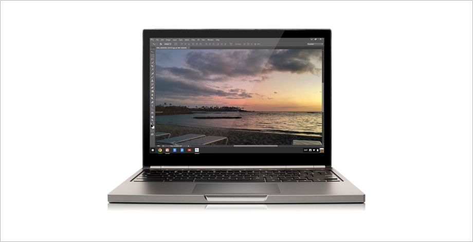 Adobe Photoshop in Chromebook