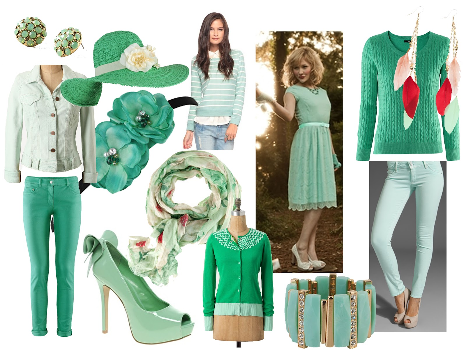 Sarah Dawn Designs: Fashion Color Trends (Meet the Green)
