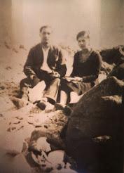 Padres de Evelina en tiempos mozos: Luis Rojas y Thala Cortés